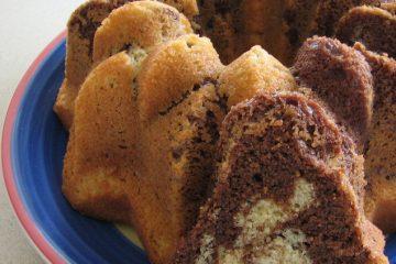 עוגת שיש ביתית עם קמח כוסמין מלא