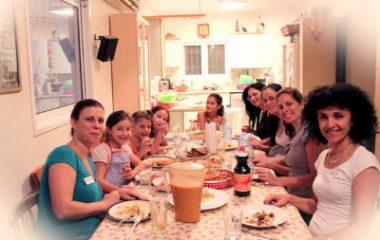 סדנת בישול בריא להורים וילדים