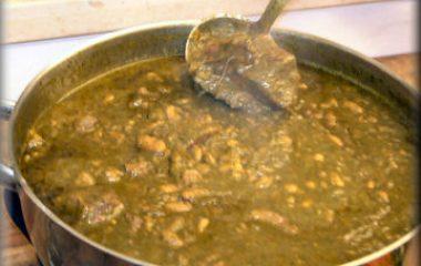 פקיילה – מאכל טוניסאי לשבועות – תבשיל תרד ושעועית לבנה בבישול ארוך
