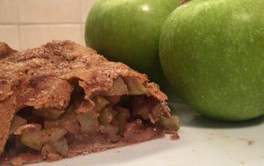 שטרודל תפוחים טבעוני מקמח כוסמין מלא
